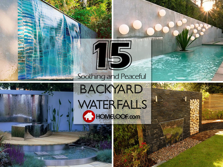 Best Backyard Waterfalls Ideas