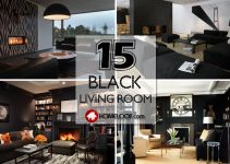 Best Black Living Room