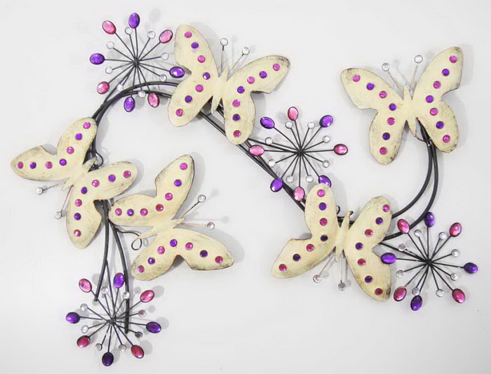 Butterfly Metal Wall Art Decor