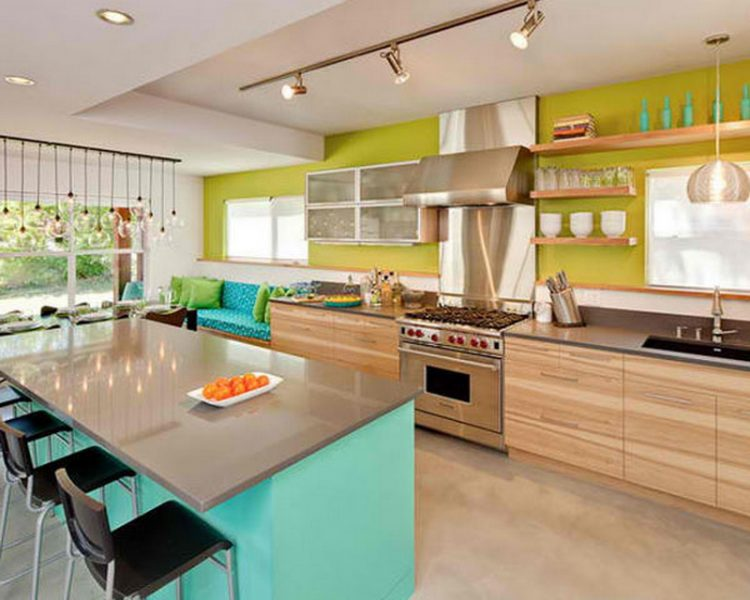 Modern Kitchen Style With Multiple Elements