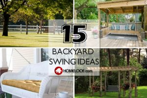 Best Backyard Swing Ideas