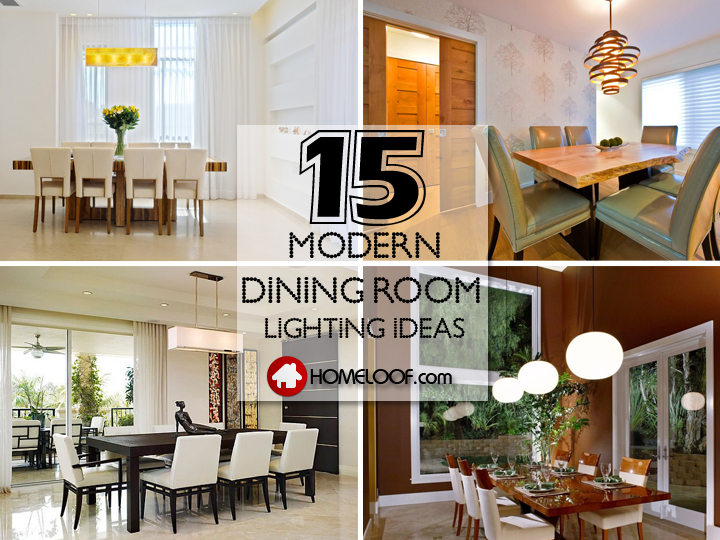 Best Modern Dining Room Lighting Ideas