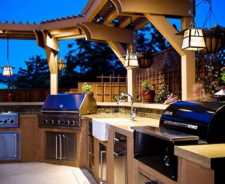 Classic Hanging Lights For Outdoor Kitchen