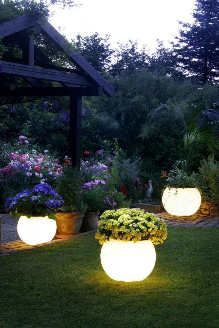 Round Ground Lighting Pot Fixtures